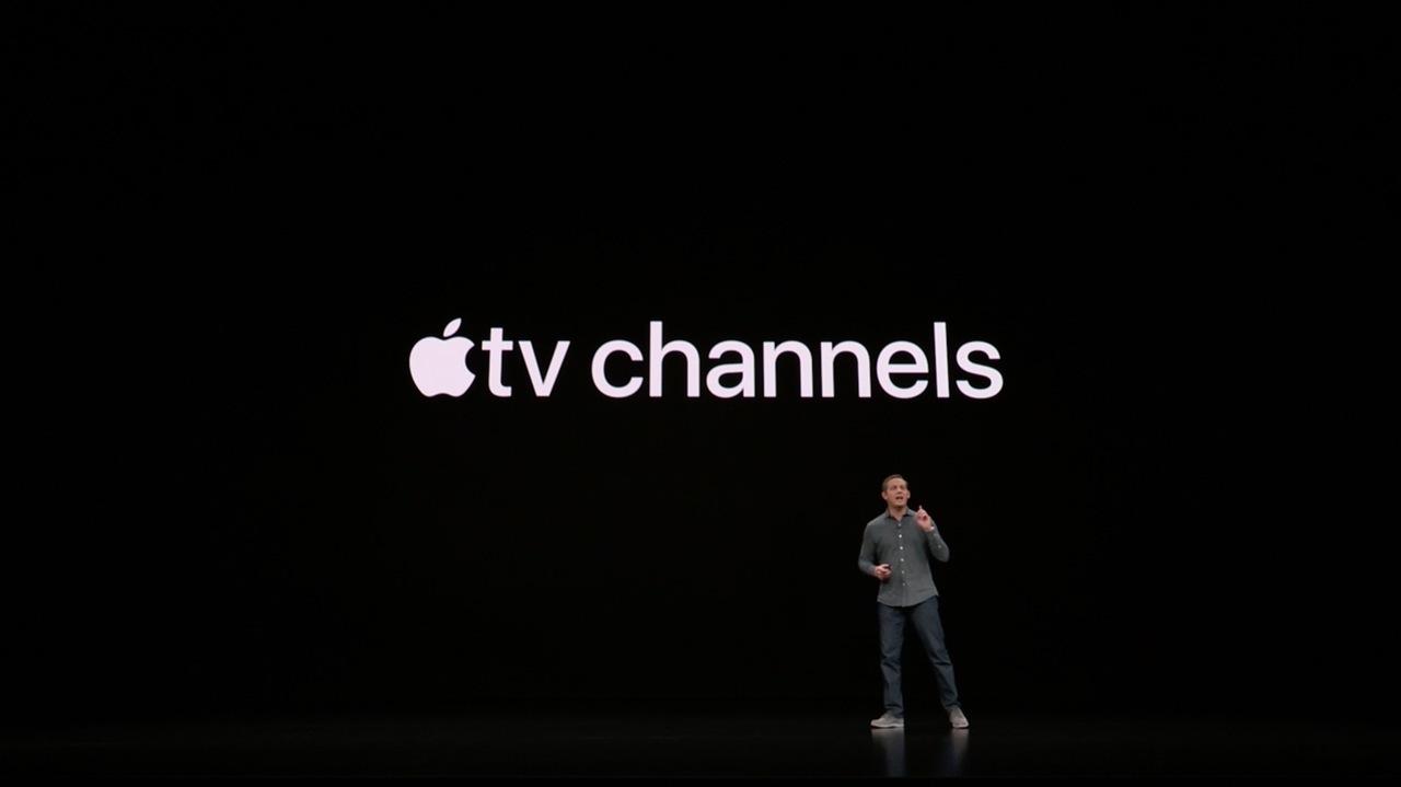 エンタメへ飛び込め。新サービス「Apple tv channel」が発表