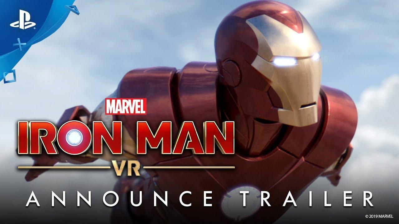VRでアイアンマンになれる! PSVR向けソフト『アイアンマンVR』