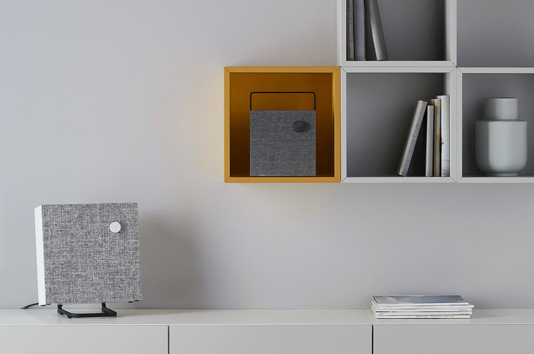 掛けても置いてもSoミニマル。IKEAから初のスピーカー「ENEBY」が登場