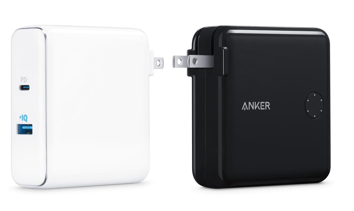 MacBookも充電できる! AnkerのUSB-C(PD)対応バッテリー&充電器がAppleストアに登場