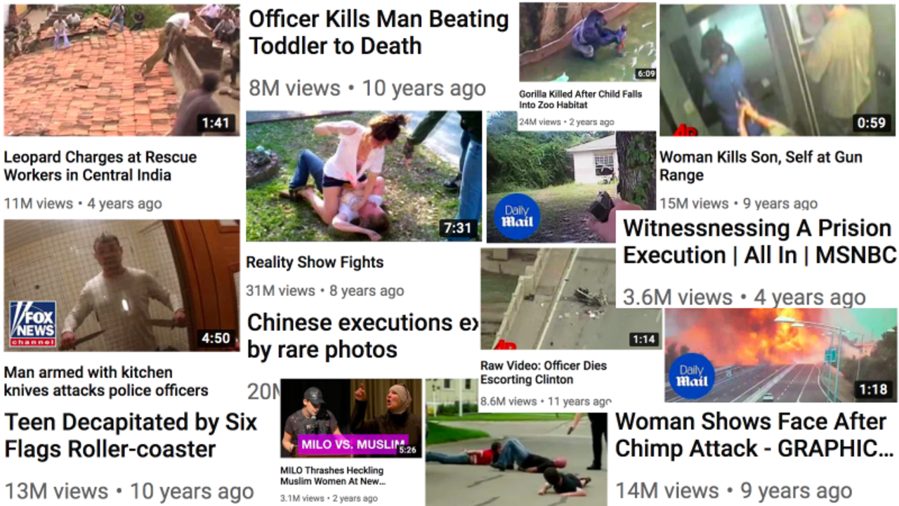 YouTube「過激なコンテンツはYouTube上では成功しない」という謎の声明