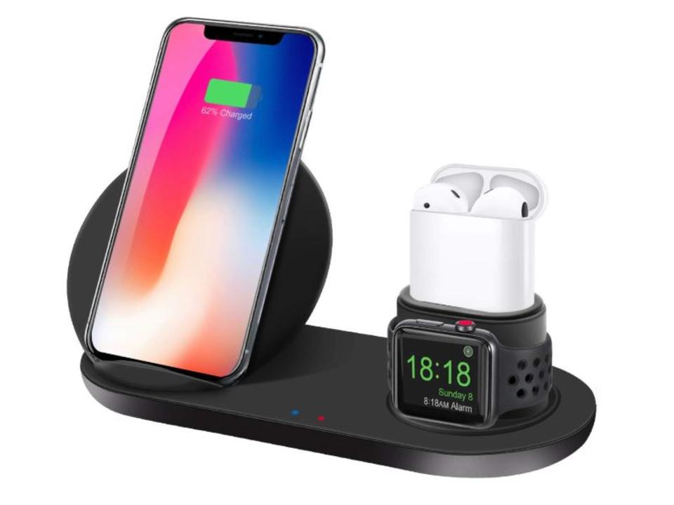 【きょうのセール情報】Amazonタイムセールで80%以上オフも! ワイヤレスチャージ対応のiPhone・Apple Watch・AirPods用充電スタンドや1,000円台の4USBポート付きモニター台がお買い得に