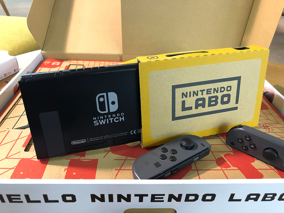 手軽+VR=どこまでも楽しい! 「Nintendo Labo Toy-Con 04: VR Kit」ハンズオン