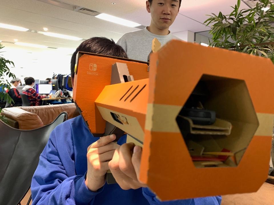 予想の3倍くらいすごい。「Nintendo Labo VR Kit」をぜんぶ一気に組み立てました【更新終了】