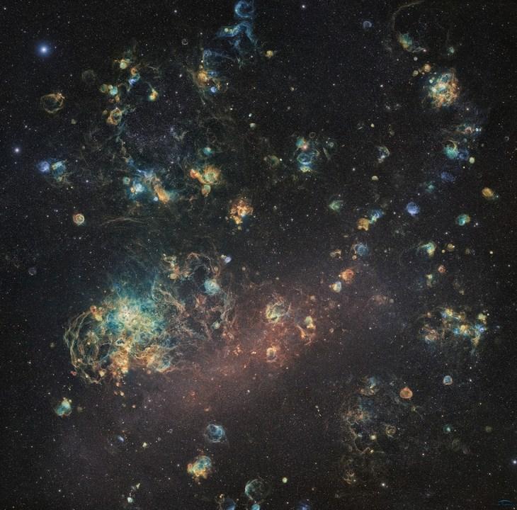 1060時間の長時間露光で撮った大マゼラン雲の美麗写真