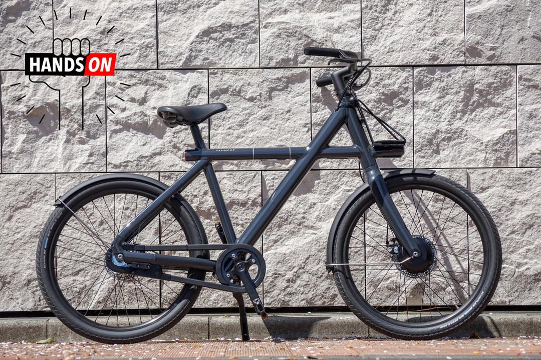 VanMoofの電動自転車「Electrified X2」ハンズオン:Xを模したフレームがかっこよすぎる