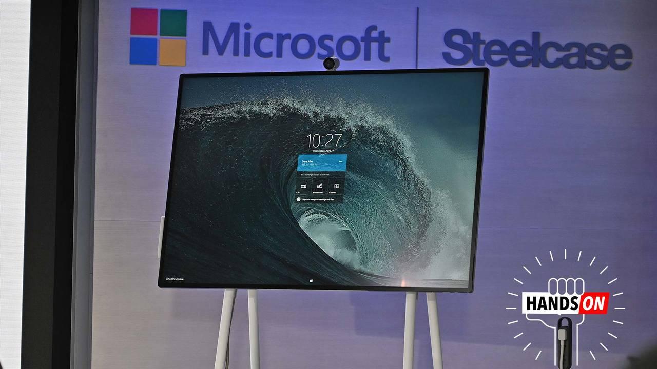 100万円の巨大なSurface:デジタルホワイトボード「Surface Hub 2S」ハンズオン