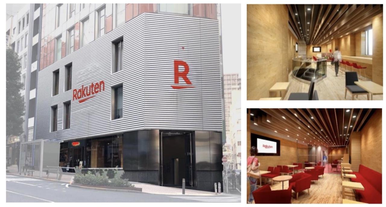 勢い増す楽天モバイル、渋谷・池袋に大型店をオープン。めっちゃカフェ感ある!