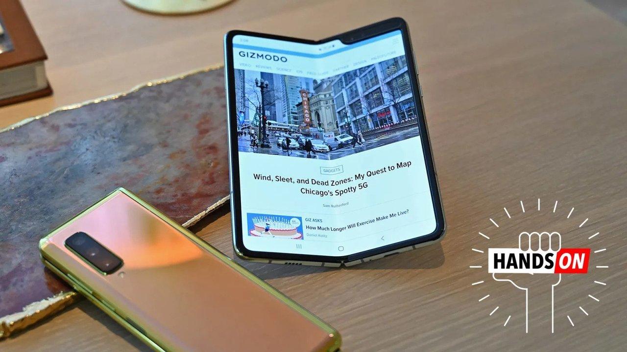 Samsung Galaxy Foldハンズオン:すんなり日常に溶け込んでくれそうな魅力