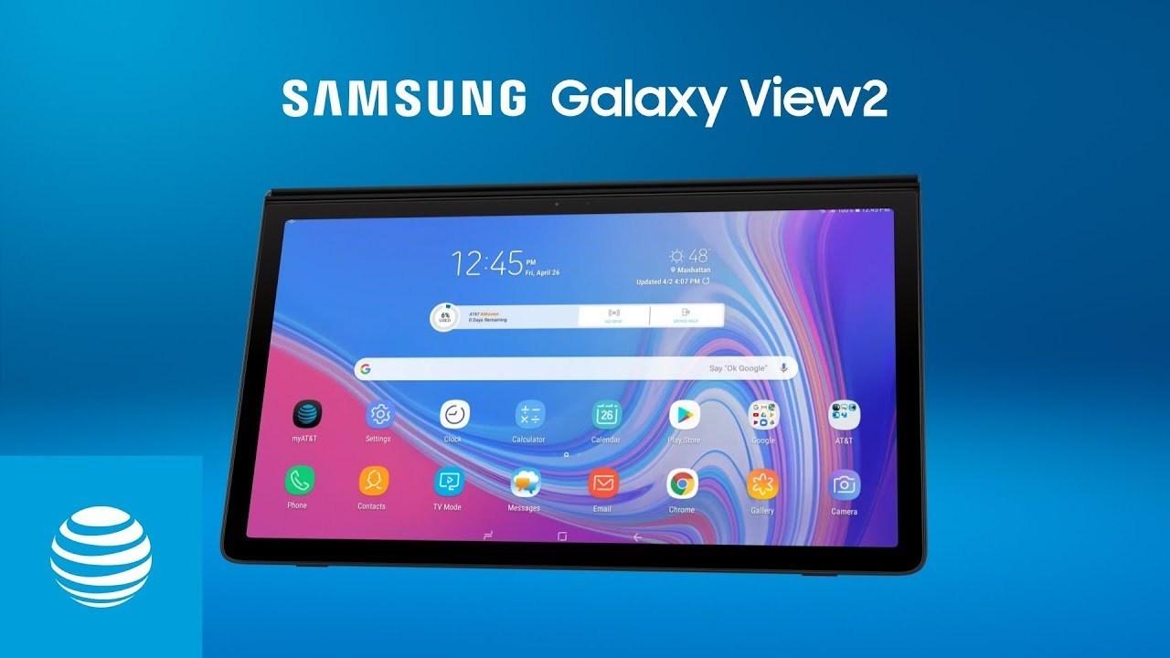 ディスプレイサイズ17.3インチ!めちゃデカタブレット「Galaxy View2」