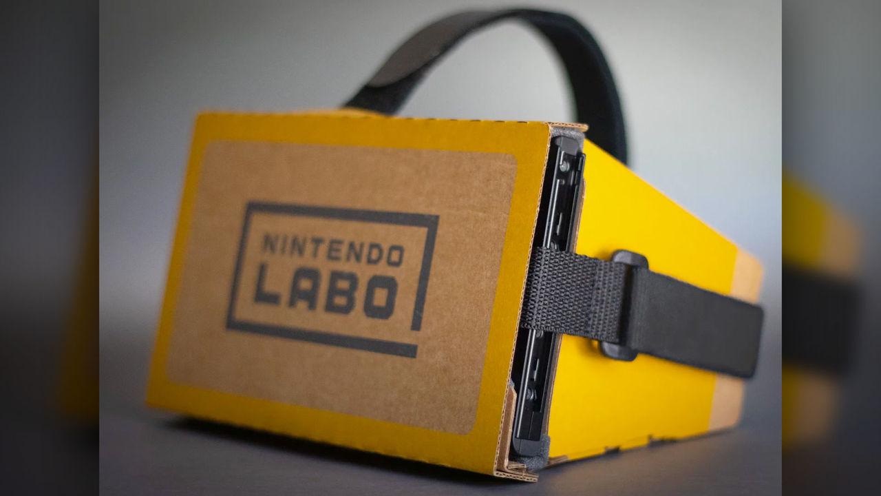 Nintendo Labo VRを頭に取りつけられるストラップがサードパーティから