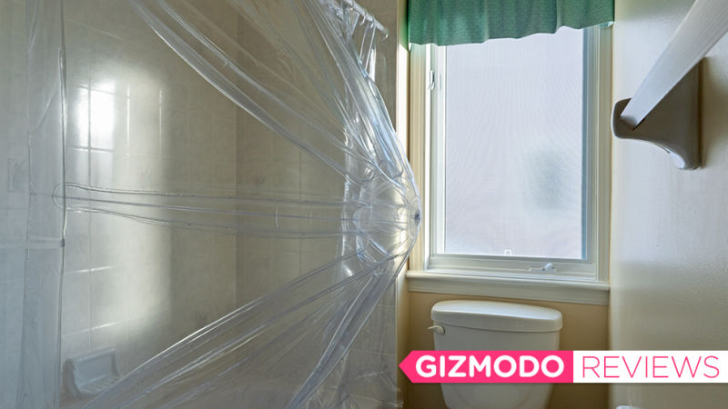 シャワースペースが狭いなら無理やり広くしてしまえ! シャワーカーテン「Aircurv」レビュー