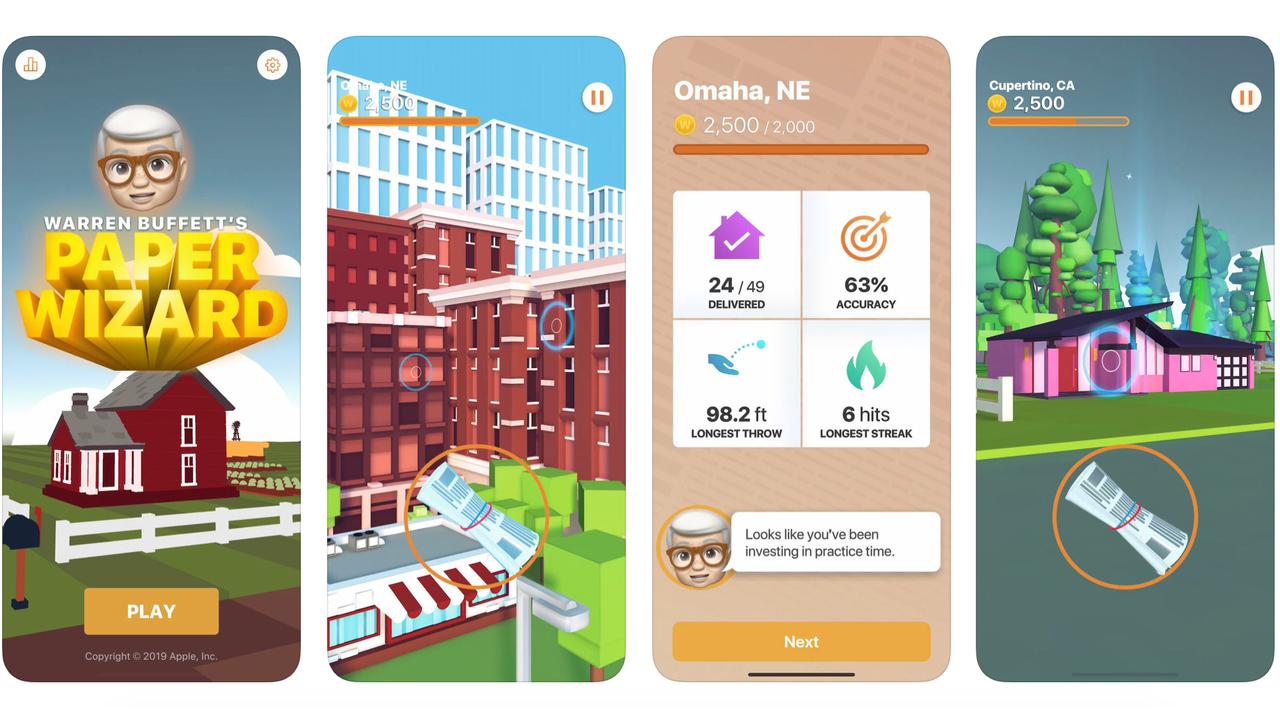 アップル史上2番目のiOSゲームは新聞配達から成り上がる「お金持ちゲー」