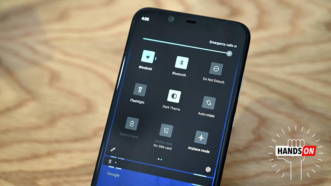Android Q「ダークテーマ」ハンズオン:黒い