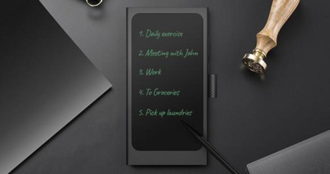 紙に書いているような書き心地! メモ帳にもなるモバイルバッテリー「Memopower」のキャンペーン終了まであと7日