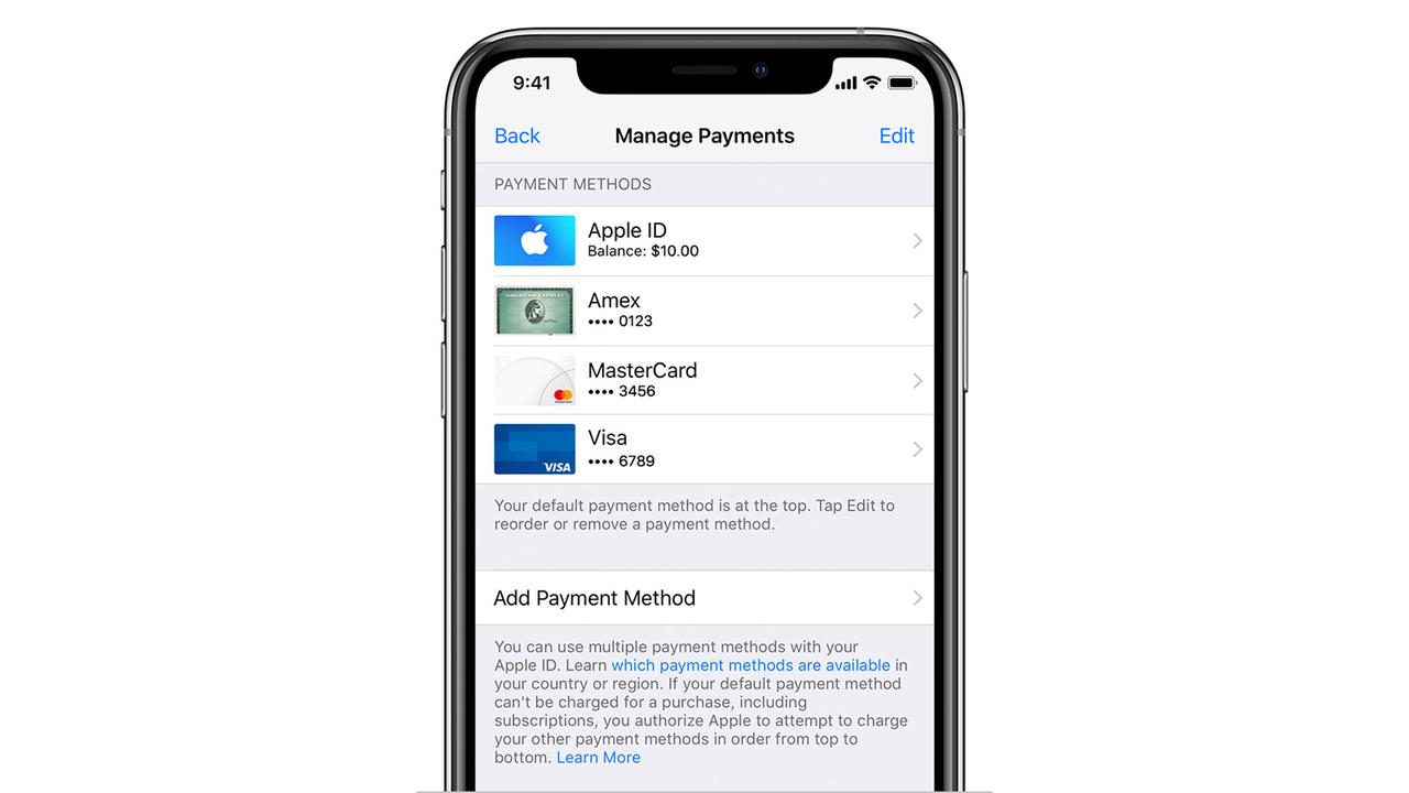 iTunes StoreやApp Storeの支払いに「Apple Pay」が使えるようになりました