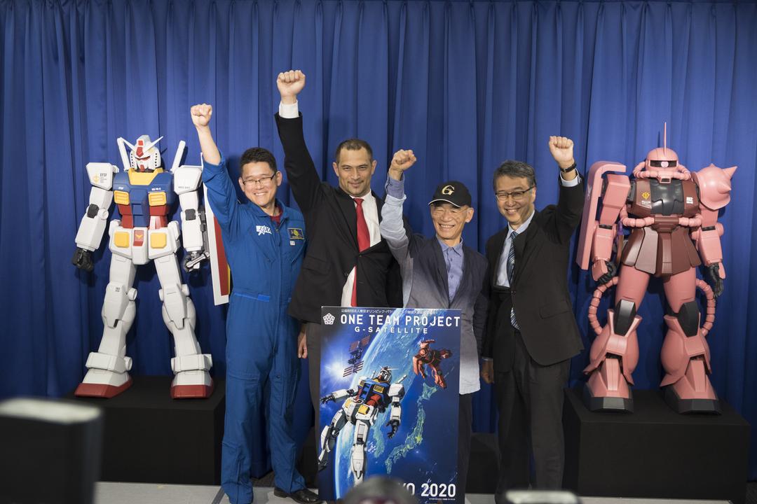 ガンダム、リアル宇宙に翔び立つ。JAXAがガンプラを宇宙に打ち上げるプロジェクトを発表!