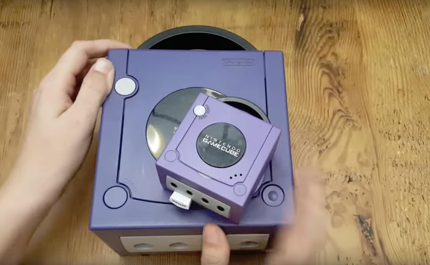 世界最小? YouTuberがゲームキューブ・クラシックミニを作ってしまう
