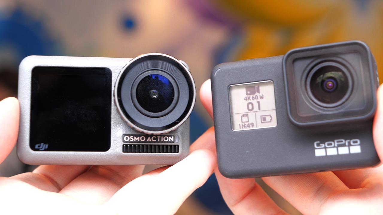 【動画ハンズオン】手ブレはOsmo、色味はGoPro。「Osmo Action」vs「GoPro HERO7」