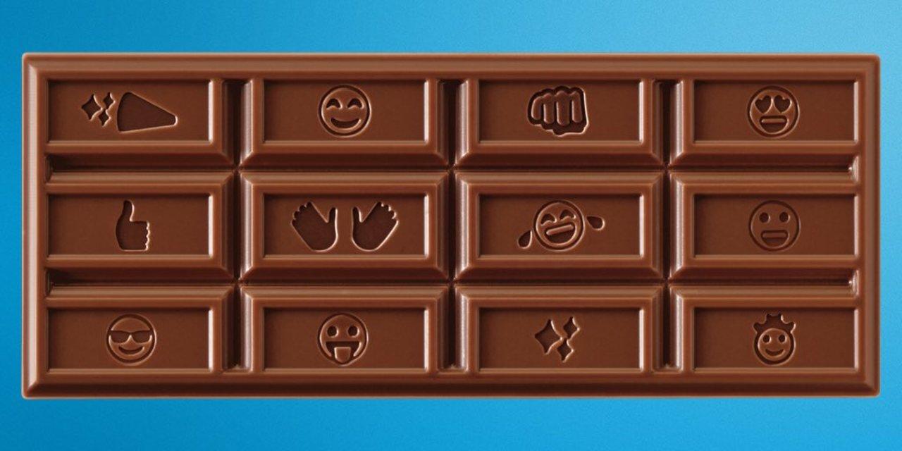 ウ○コもあるよ。チョコレートのHershey'sが絵文字デザインを採用