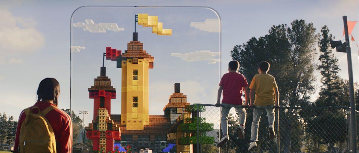 現実世界で地下堀りだ! ARで遊べる『Minecraft Earth』が正式発表