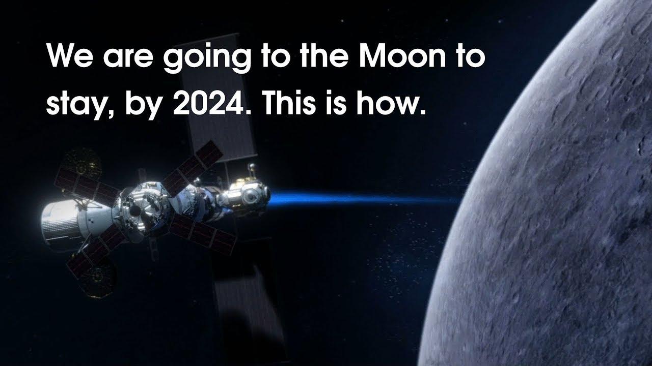 2024年、NASAが月に還るミッションを動画で紹介