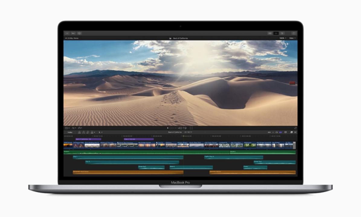 新型MacBook Proいきなり登場。8コアモデル投入とバタフライキーボード改善
