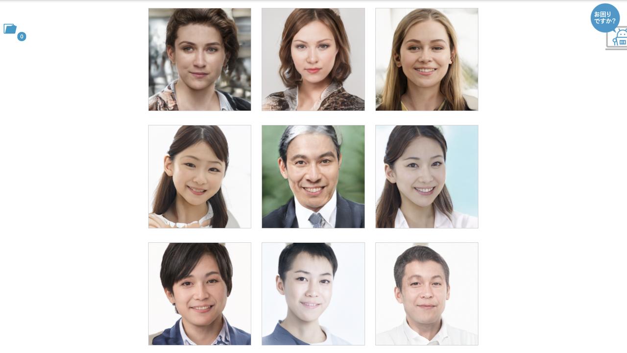 グッバイ肖像権。AIでつくる「存在しない人の顔」のフリー素材