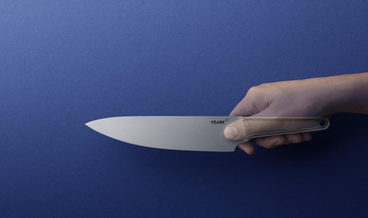 残り1日!継ぎ目のないオールステンレスのシェフズナイフ「VEARK CK01」