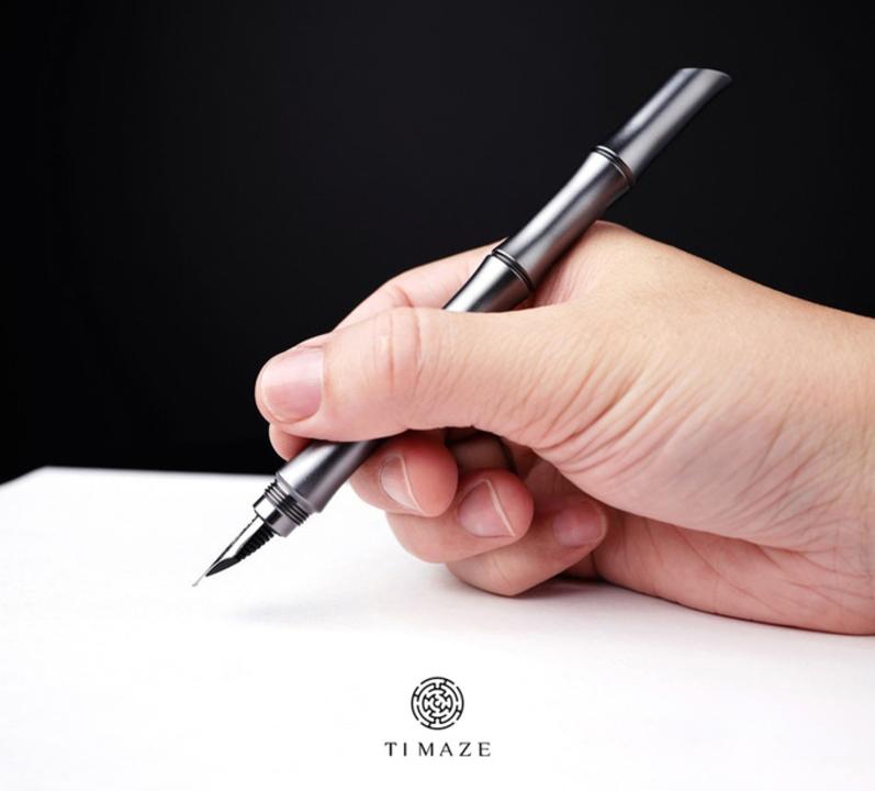 メタル素材好き集まれ! 竹がモチーフのユニークな万年筆「TTi-110」のキャンペーンがあと7日で終了