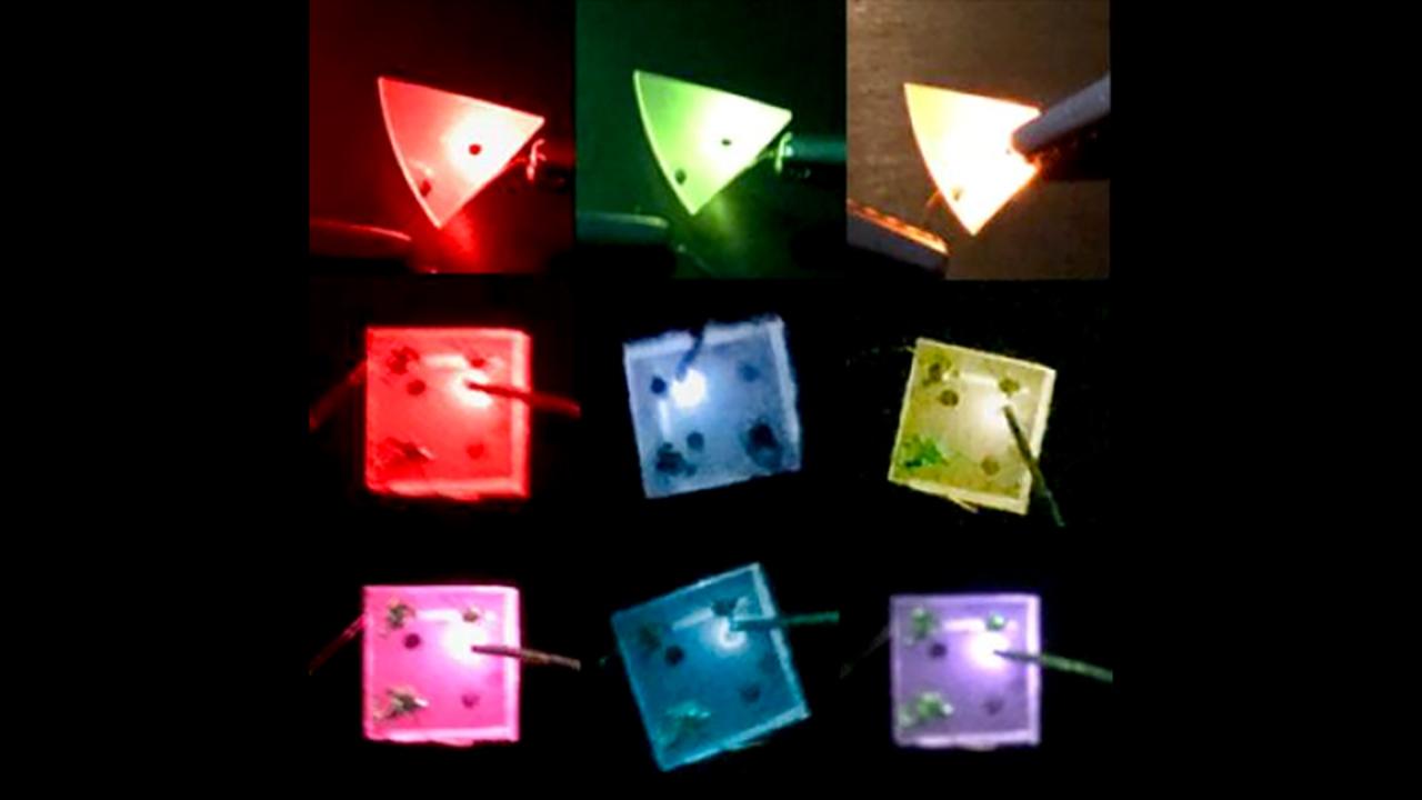 発光体の常識をぶち破る。電流で色が変わるLED