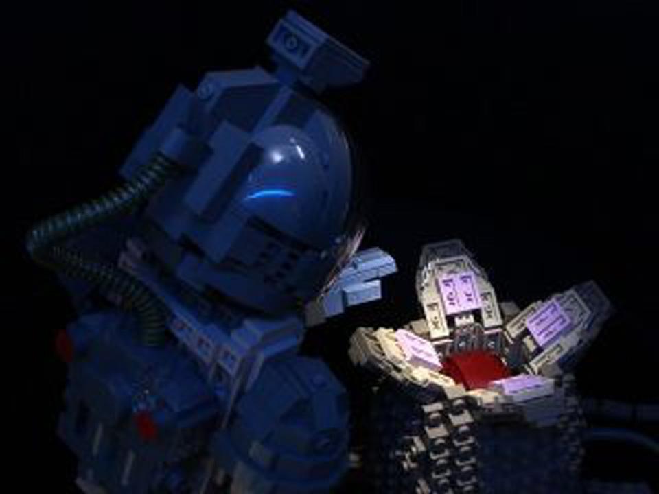 エイリアンと人類が出逢って40年! 記念にレゴであのシーンを再現してみた