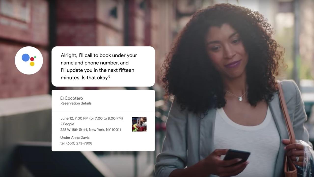 GoogleのAIによる電話予約サービス「Duplex」、実は25%くらいは人間が電話してる