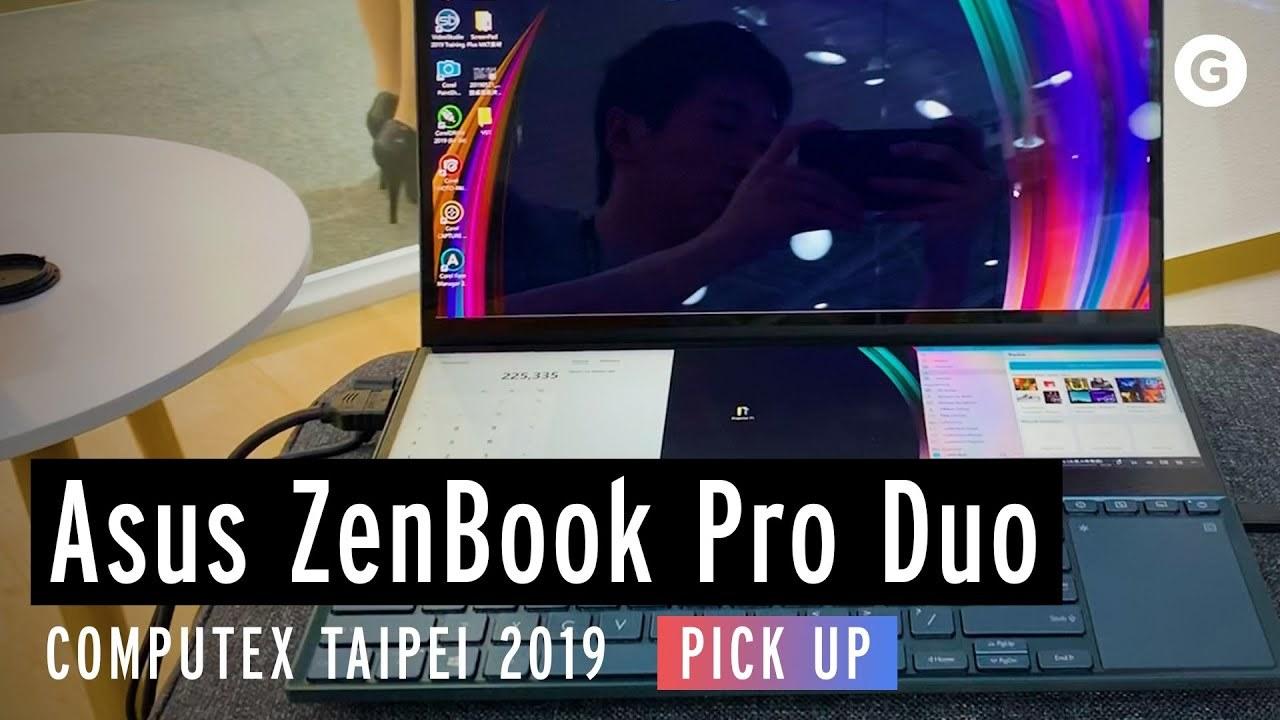 圧巻のデュアル4K画面:ZenBook Pro Duoハンズオン(おまけあり) #COMPUTEX 2019