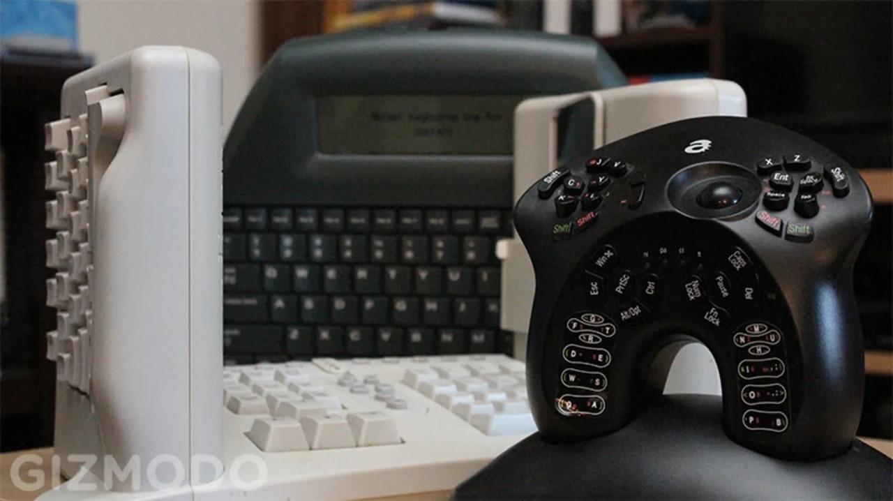ヘンテコなキーボードの世界にようこそ