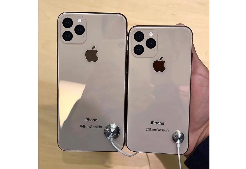 トリプルカメラな次期iPhone、手にとったらこんな感じ?