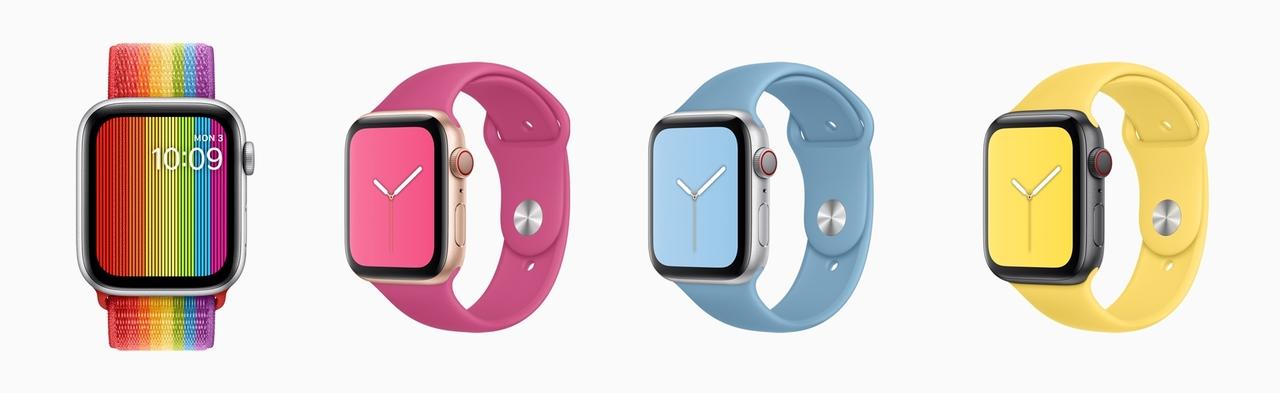 Apple WatchにNewバンド4種登場。夏モデルはサワヤカです #WWDC19