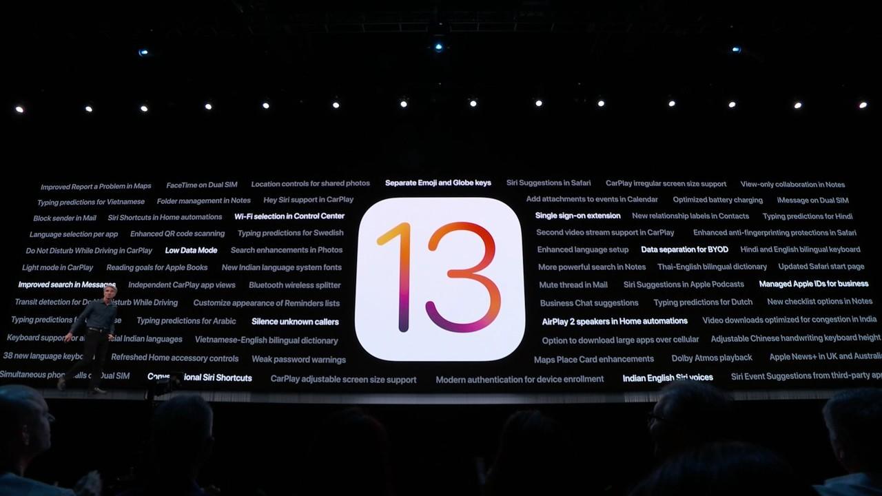 iOS13の対応機種はiPhone 6s以降から。今秋提供予定 #WWDC19