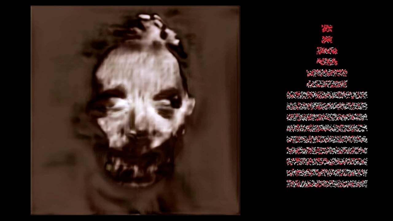 トラウマ注意:ニューロンをひとつずつ切りながらAIに人間の顔をイメージングさせると?