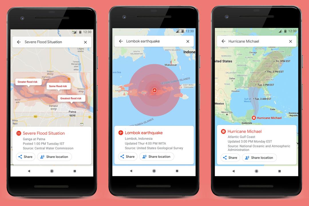 グーグルのSOSアラートがアップデート:よりリアルタイムな情報が得られるように