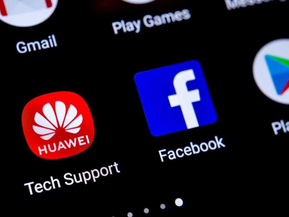 Huawei製スマホでFacebookアプリの提供が停止に