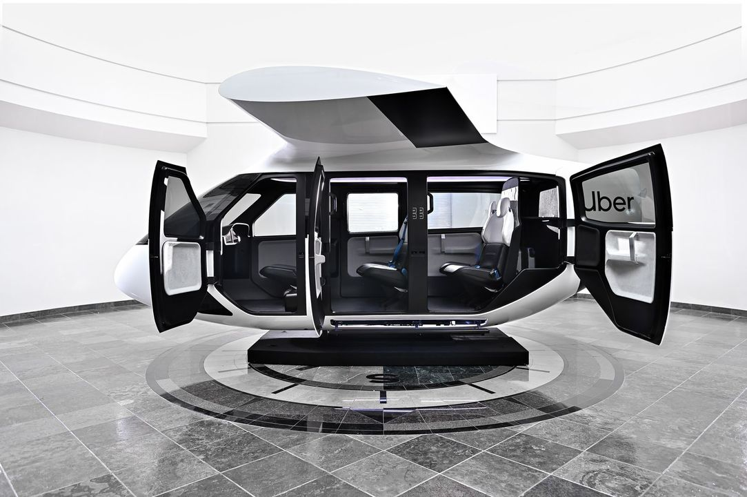 Uber Airの中とヘリポートの最新コンセプトが公開される。未来的で格好いい!