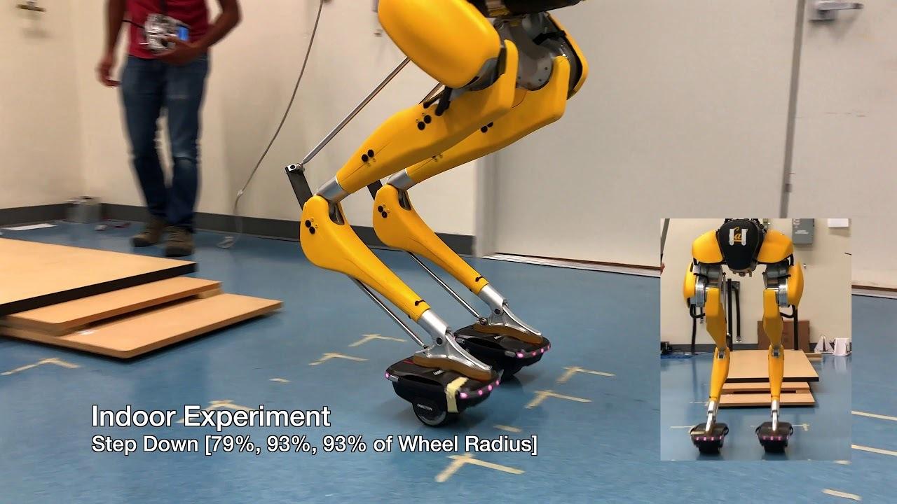 ダチョウ脚のロボット「キャシー」、今度はホバーシューズに乗る