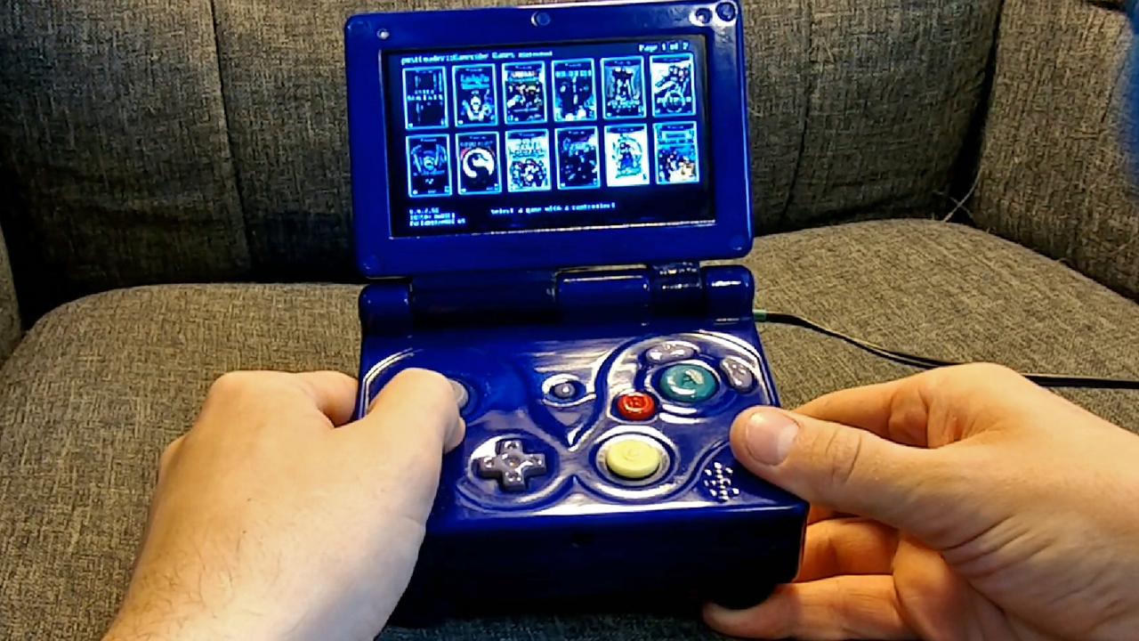 ガワはGBAだけど、Wiiもゲームキューブも動くぜ!な魔改造GBA