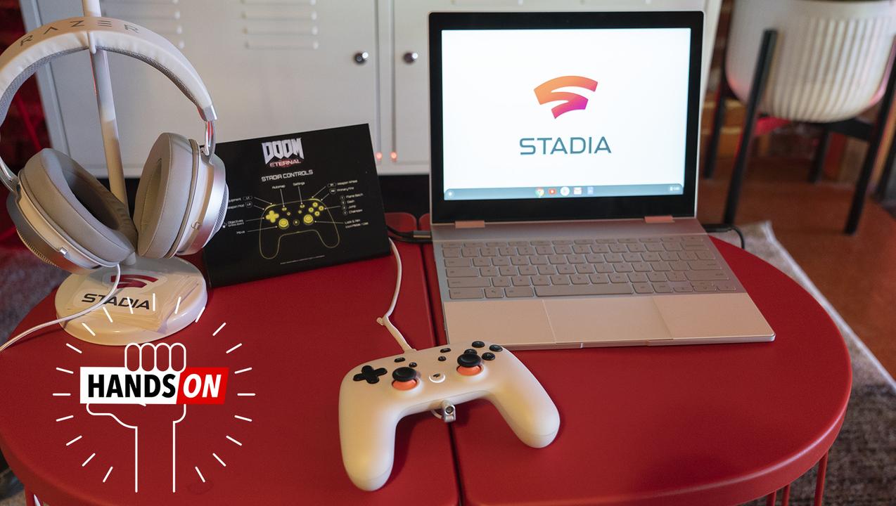Googleのゲーム・ストリーミング・サービス「Stadia」ハンズオン:おいおい、Chromebookで最新FPSが遊べちゃったよ!