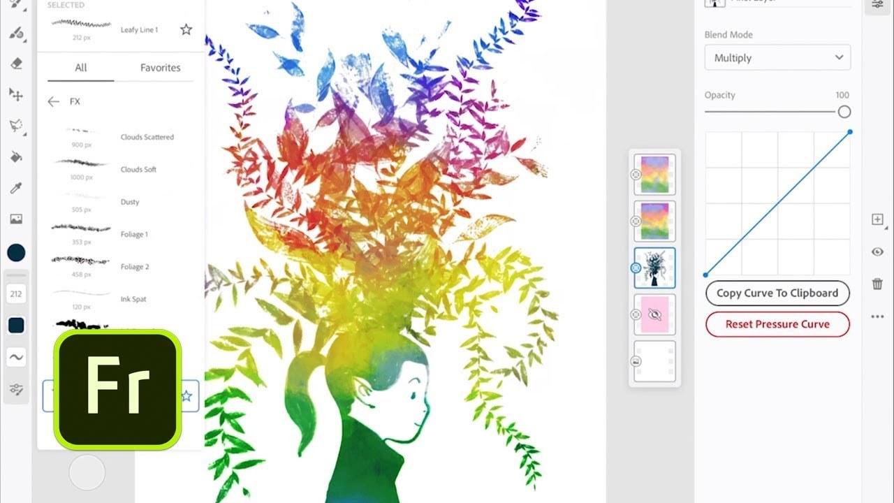 開発中のスケッチ&ペイントアプリの正式名称は「Adobe Fresco」に