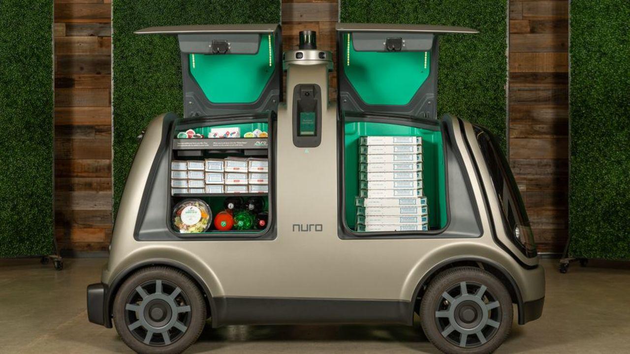 自動運転技術のNuroがドミノ・ピザを運ぶ。これ、日本でやったらいいよ!