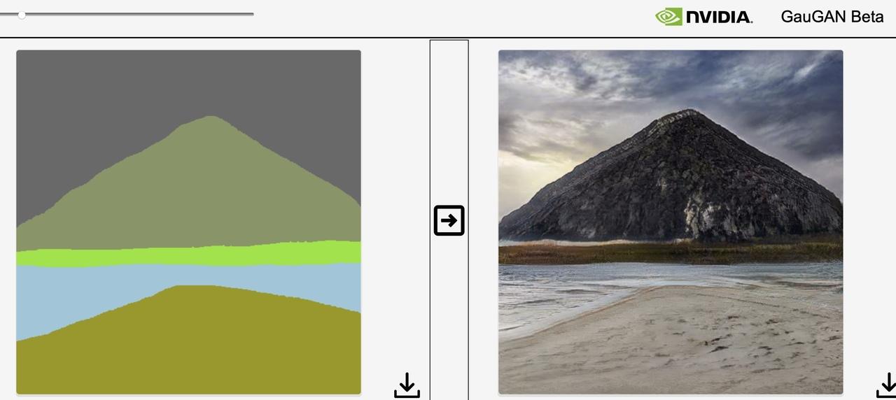 絵心ゼロでもこのレベルよ。ラクガキからリアル画像を生成する「GauGAN」が今すぐ試せます