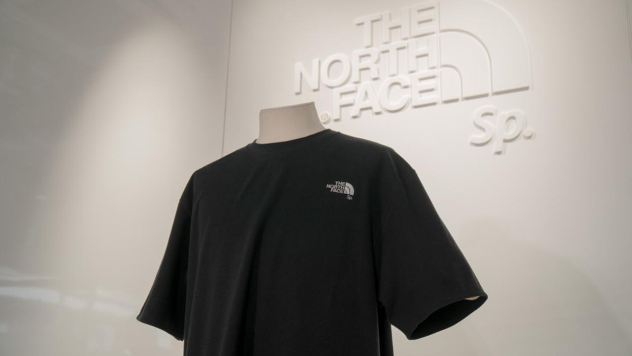 ザ・ノース・フェイス、「プロテイン入りのTシャツ」を限定発売へ