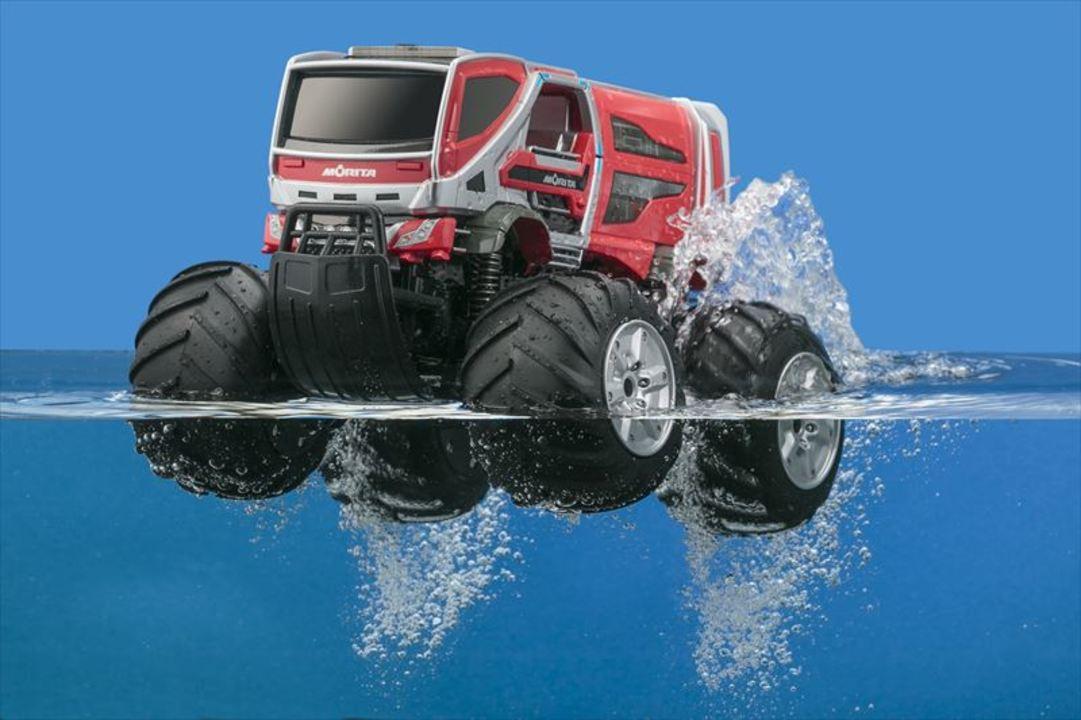 水陸両用! 「林野火災用消防車」のコンセプト・カーがラジコンで発売